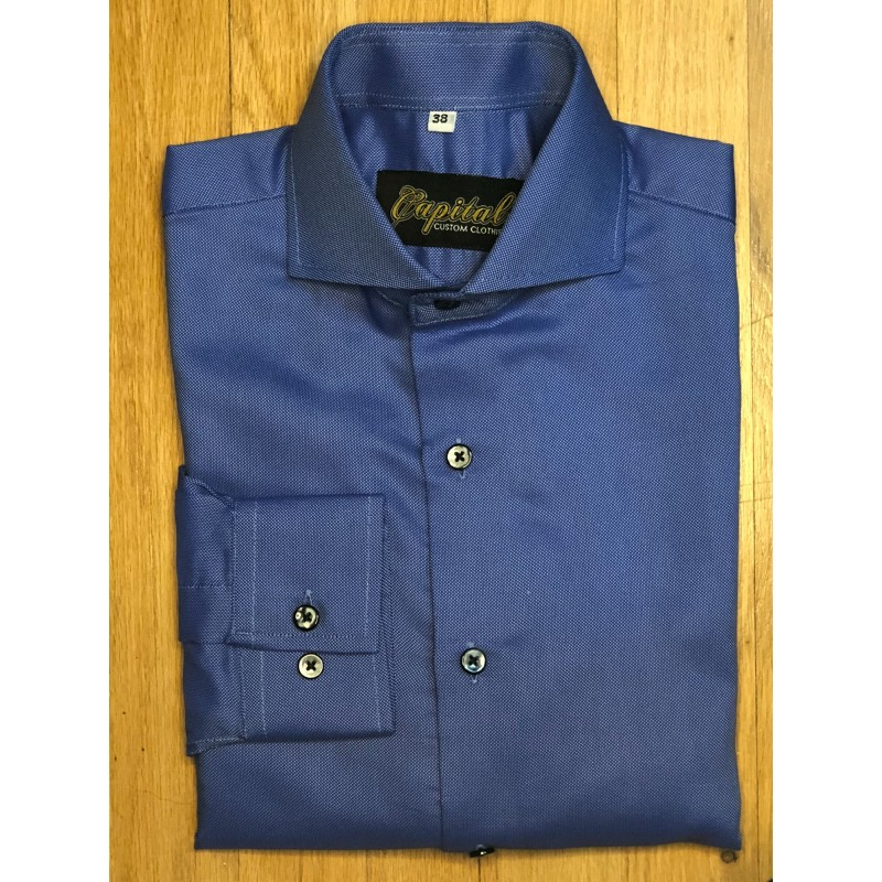 Dark Blue Shirt - Neck 14.5""