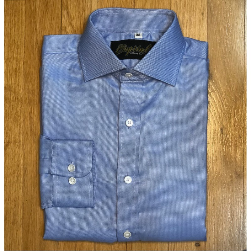 Light Blue Shirt - Neck 14.5""