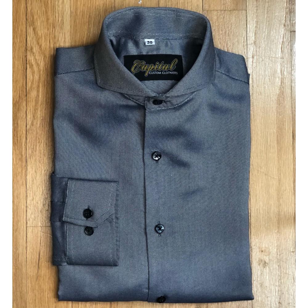 "Charcoal Shirt  - Neck 14.5"""