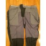 Graphite Gray Wool Pants - Waist 43 Long