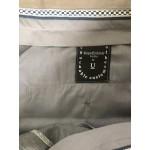 Smoke Gray Wool Pants - Waist  44