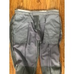 Smoke Gray Wool Pants - Waist  44