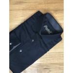 "Black Casual Shirt - Neck 16.5"""