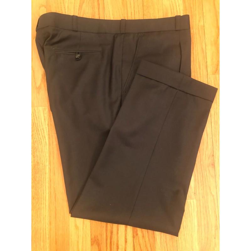 Olive Wool Pants - Waist 40