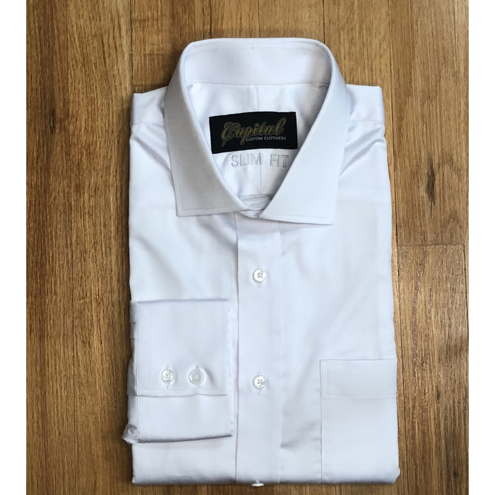 White Dress Shirt - Neck 18""