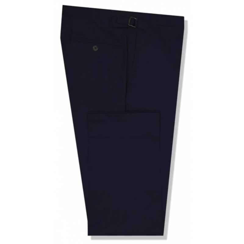 The Lee Navy Cotton Stretch Chino