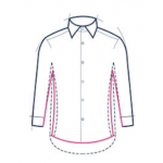 Classic Collar Non-Iron Mini Herringbone