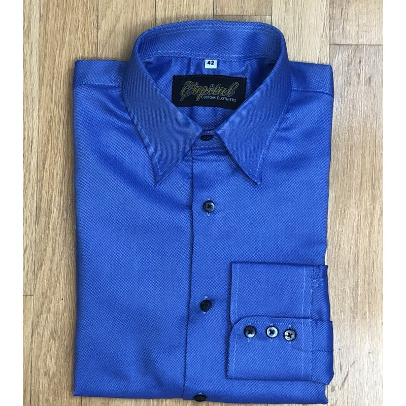 Dark Blue Shirt - Neck 16""
